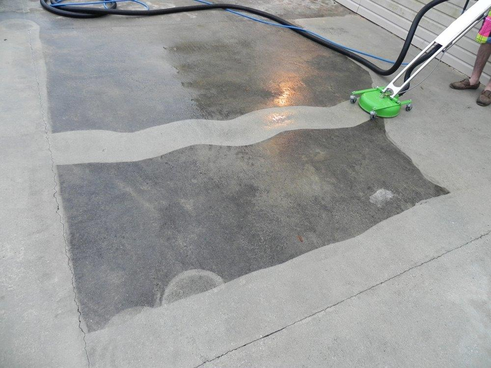 Total floor cleaing solutions for Cleaning stained concrete floors steam mop